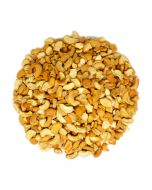 A handful of Organic Dry Roasted Cashew Large Pieces - 3lb/12pk